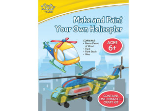 Make And Paint Your Own Helicopter