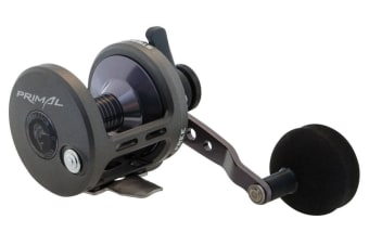 Fin-Nor Primal PR12 Low Speed Lever Drag Overhead Fishing Reel