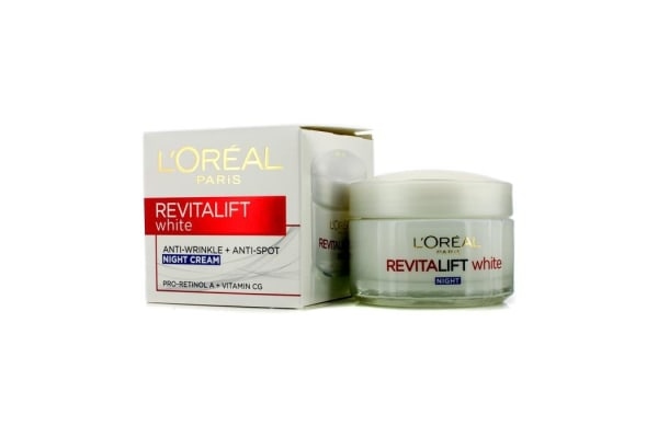 L'Oreal Revitalift White Anti-Wrinkle + Anti-Spot Night Cream (50ml/1.7oz)