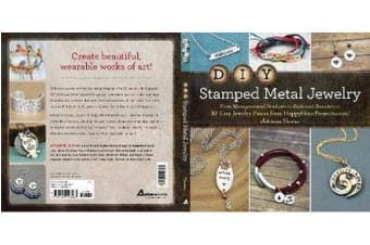 DIY Stamped Metal Jewelry - From Monogrammed Pendants to Embossed Bracelets--30 Easy Jewelry Pieces from HappyHourProjects.com!