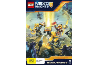 LEGO Nexo Knights Season 3 Volume 2 DVD Region 4