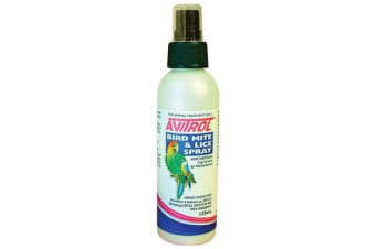 Fidos Avitrol Bird Mite and Lice Spray - 125ml