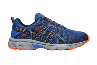 ASICS Men's Gel-Venture 7 Running Shoe (Electric Blue/Sheet Rock)