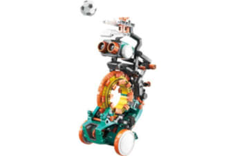 5 In 1 Smart Coding Robot kit  with centralised coding ring accepts differently shaped coding parts