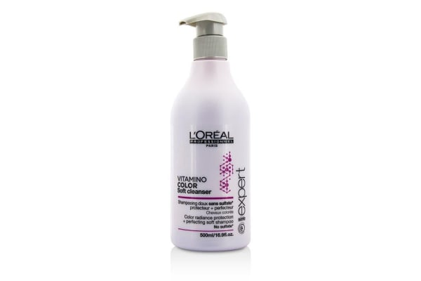 L'Oreal Professionnel Expert Serie - Vitamino Color Soft Cleanser Color Radiance Protection + Perfecting Soft Shampoo (500ml/16.9oz)