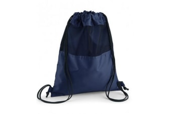 Quadra Mesh Gymsac (French Navy) (One Size)