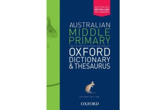Australian Middle Primary Oxford Dictionary & Thesaurus