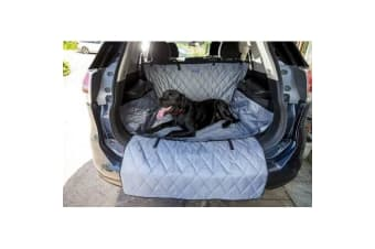 Henry Wag Pet Car Boot & Bumper Protector (Grey/Black)