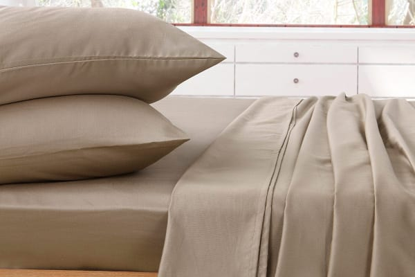 1000TC Luxury Queen Sheet Set (Taupe)