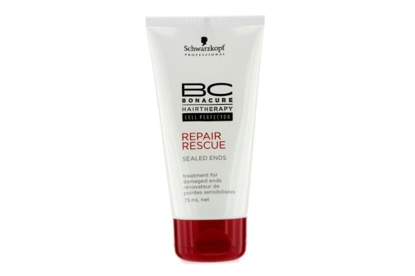 Schwarzkopf BC Repair Rescue Sealed Ends Treatment - For Damaged Ends (New Packaging) (75ml/2.5oz)