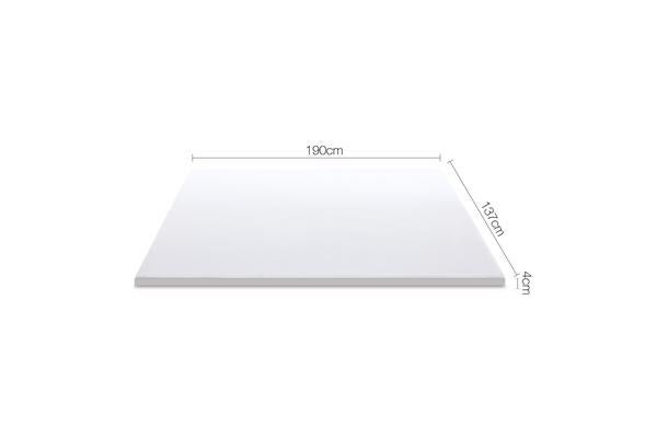 4cm Dual Layer Cool Gel Memory Foam Topper (Double)