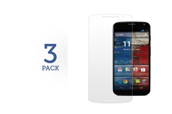 3 Pack Screen Protector for Motorola Moto X