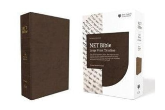 NET Bible Full-Notes Edition [Brown]
