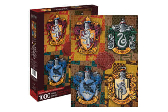 Aquarius Harry Potter Crests 1000pc Jigsaw Puzzle Children/Teen/Kids 14y+ Toys