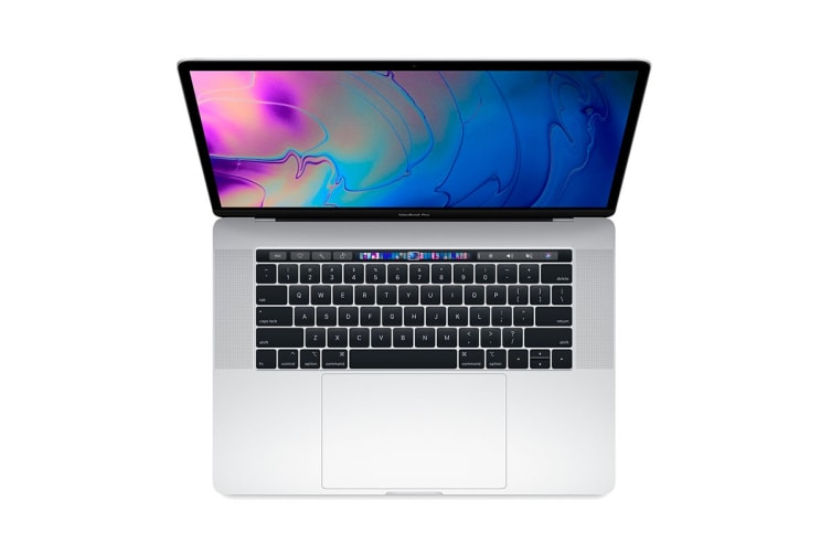 "Apple 15"" MacBook Pro with Touch Bar (2.2Ghz i7, 16GB RAM, 256GB SSD, Silver) - MR962"