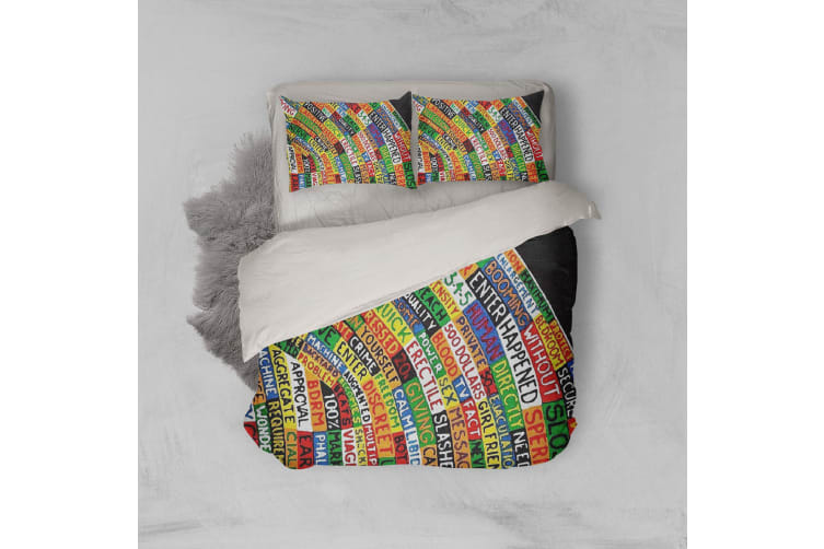3D Band Radiohead Quilt Cover Set Bedding Set Pillowcases 64-Single