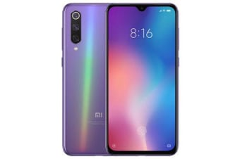 New Xiaomi Mi 9 Dual SIM 128GB 6GB RAM 4G LTE Smartphone Purple (FREE DELIVERY + 1 YEAR AU WARRANTY)