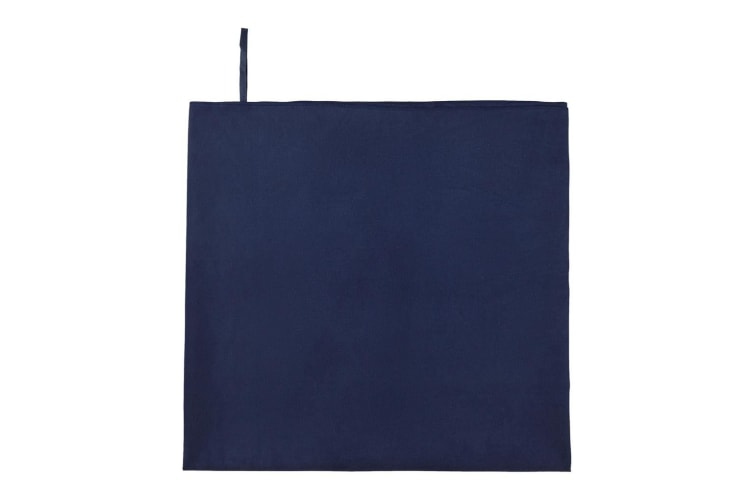 SOLS Atoll 100 Microfibre Bath Sheet (French Navy) (One Size)