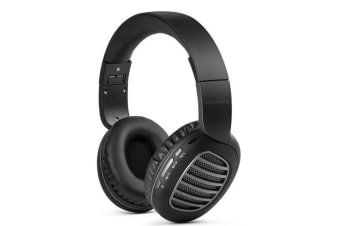 Promate CONCORD.GRY  On-Ear Bluetooth HD Stereo  Headset with Passive Noise Cancellation. Foldable &