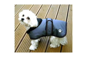 Danish Design Luxury Dusty Dog Coat (Blue)