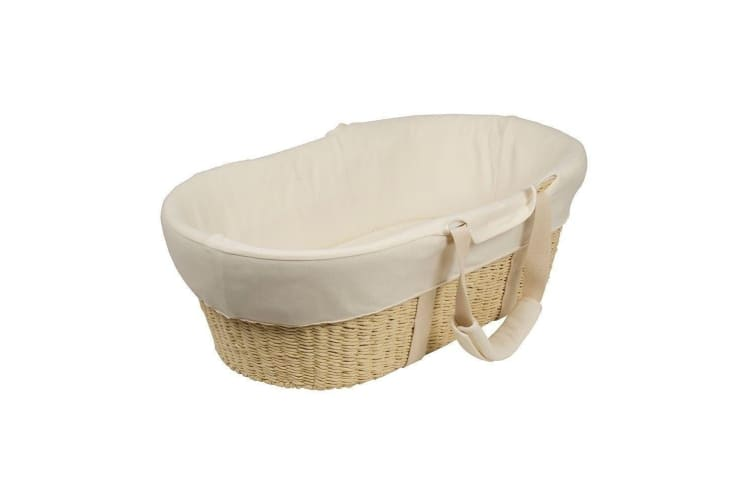Bebecare Moses Basket with White Stand