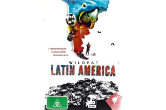 WILDEST LATIN AMERICA - Series Region All Rare- Aus Stock DVD NEW