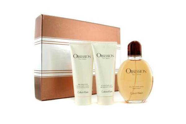 Calvin Klein Obsession Coffret: Eau De Toilette Spray 125ml/4oz + Body Wash 100ml/3.4oz + After Shave Balm 100ml/3.4oz (3pcs)