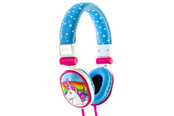 Moki Poppers Over Ear Headphones - Unicorn  (ACCHPP17A)