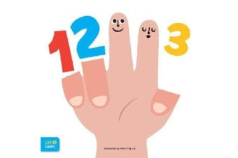 123 Lift & Learn - Interactive flaps reveal basic concepts for toddlers