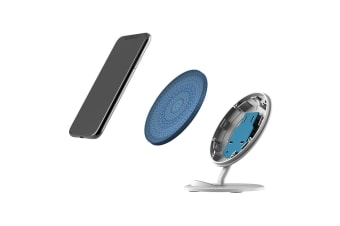 QI Wireless Charger For iPhone XR XS MAX Samsung Galaxy S10 S10+ S10e  Spirals