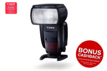 Canon Speedlite Flash with Wireless Radio Transimission (600EXIIRT)