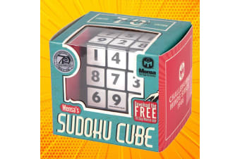 Sudoku Cube Number Puzzle | Created by the Geniuses at Mensa!