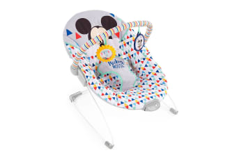 Bright Starts Mickey Mouse Triangles Baby/Infant Vibrating Rocker Bouncer 0m+