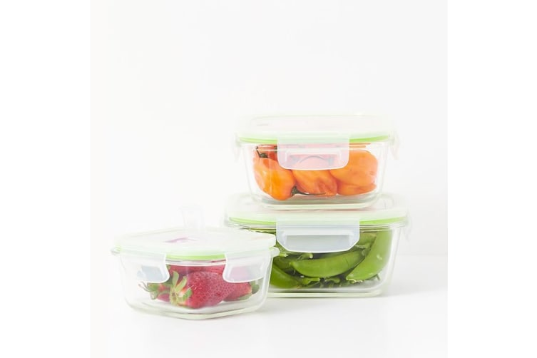 Kitchen Pro Trenton Store & Heat Glass Containers 3pc
