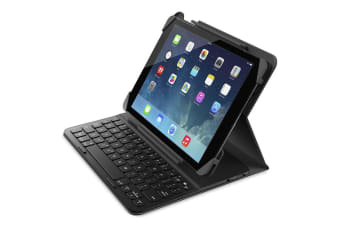 Belkin Qode Slim Style Smart Keyboard Cover Case for Apple iPad Air/Air 2 Black