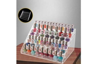 6 Tiers Clear Acrylic il Polish Varnish Cosmetics Display