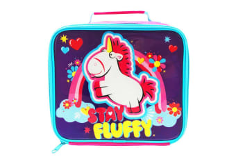 Despicable Me Fluffy Lunch Bag (Multicoloured)