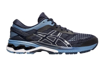 ASICS Men's Gel-Kayano 26 Running Shoe (Midnight/Grey Floss, Size 8 US)