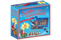 Santa is Coming to Qld Book & Floor Puzzle