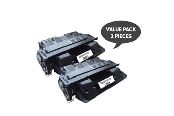 C8061X HP #61X Black Premium Generic Toner (Two Pack)