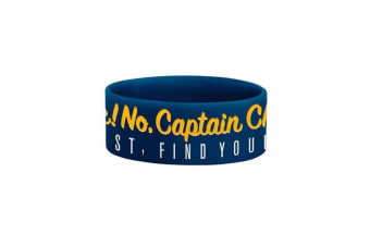 Chunk! No  Captain Chunk! Get Lost Wristband (Blue/Yellow/White) (One Size)