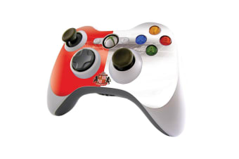 Sunderland AFC Official Xbox 360 Controller Skin (Red/White) (One Size)