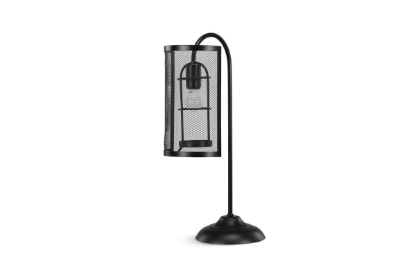 Ovela Industrial Style Grill Table Lamp
