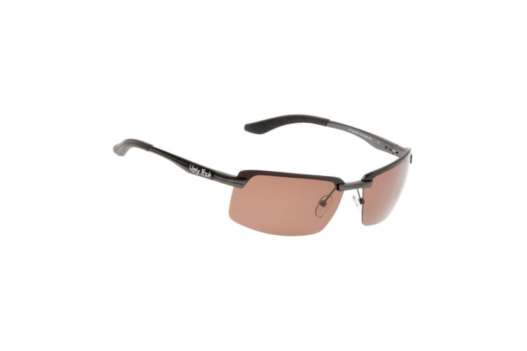 Brown Ugly Fish PT24409 TAC Aluminium Polarised Sunglasses - Adult Fishing Sunnies