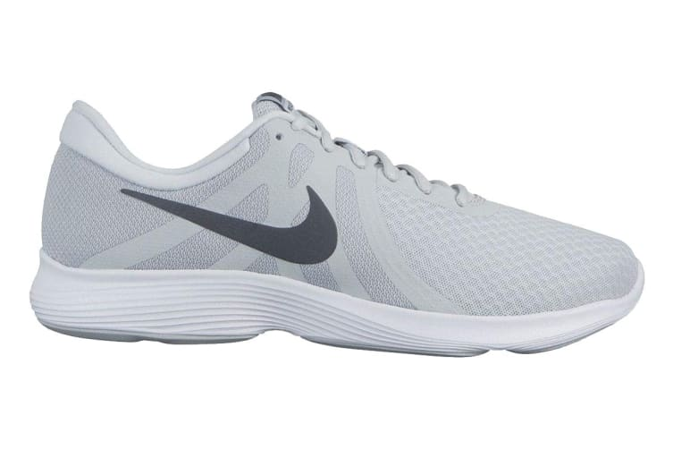 Nike Men's Revolution 4 Running Shoe (Platinum/Grey/White, Size 11 US)