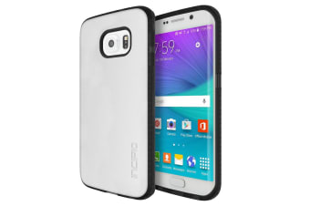 Incipio Octane Co-Molded Impact Absorbing Case For Galaxy S6 edge - Frost Black