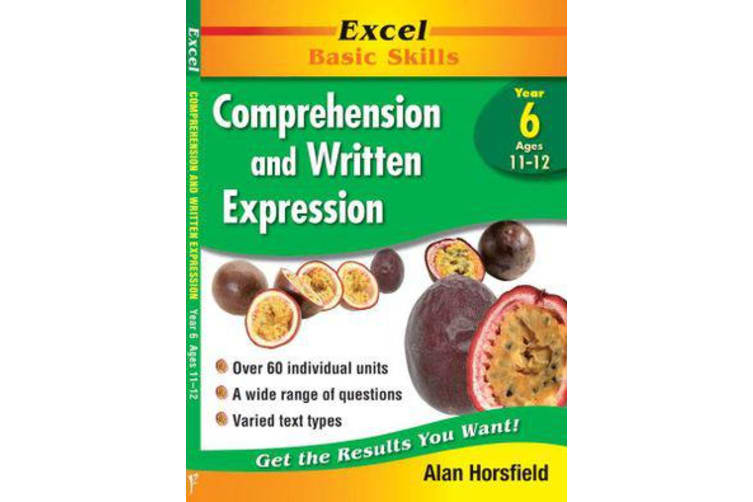 Excel Comprehension & Written Expression - Year 6