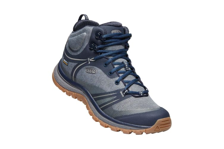 Keen Terradora Mid WP Womens Blue Nights Blue Mirage - 8H