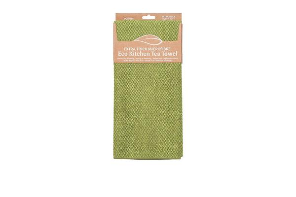 Ogilvies Designs Micro Extra Thick Towel Green