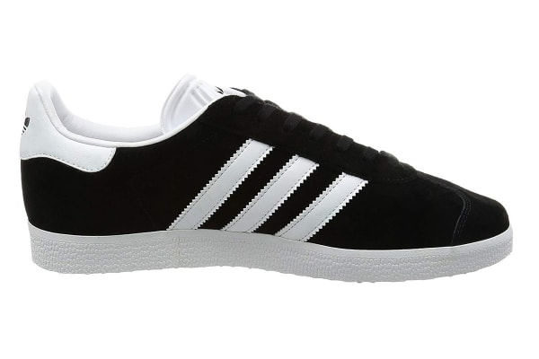 Adidas Originals Men's Gazelle Shoe (Core Black/White, Size 12.5 UK)